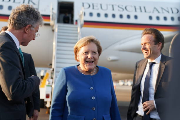 NY: Chancellor Angela Merkel Travels To The UN Climate Summit