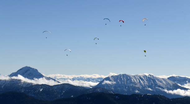 DEU: Snow In The Bavarian Alps