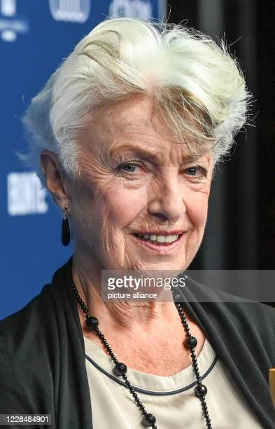 September 2020, Berlin: The actress Nicole Heesters at the award ceremony of the German Acting Prize. The award has been presented by the German...