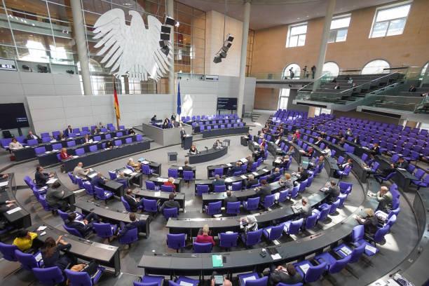 DEU: German Parliament - Start Of The Budget Week