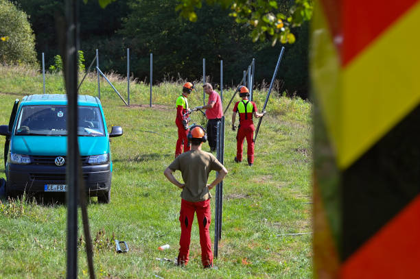 DEU: Construction Of Swine Fence