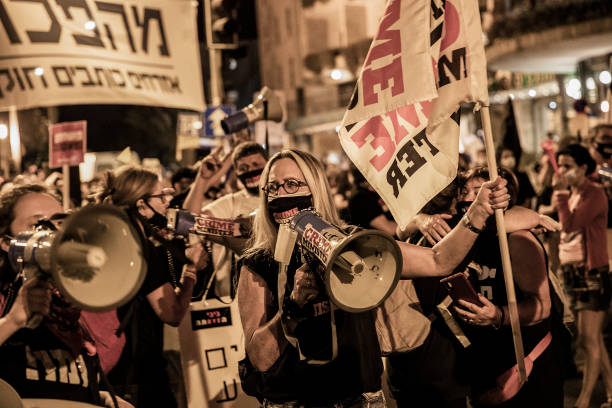 ISR: Anti-Government Demonstration In Jerusalem