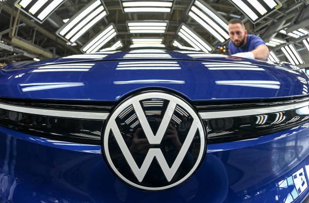 DEU: Production Of The ID.4 From Volkswagen
