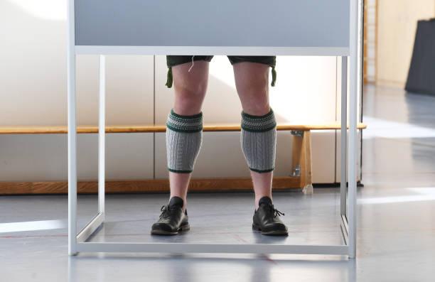 DEU: Federal Election - Polling Stations