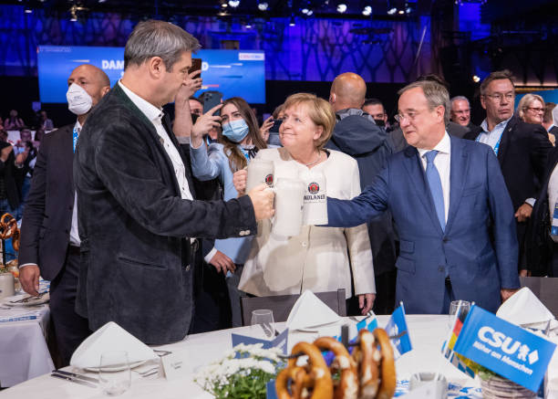 DEU: Election Campaign CDU And CSU - Official End Of The Campaign