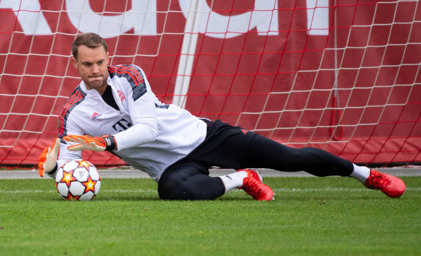 DEU: CL - FC Bayern - Dynamo Kiev - Training Bayern Munich