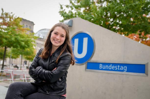 DEU: Election German Parliament - Youngest Member Emilia Fester