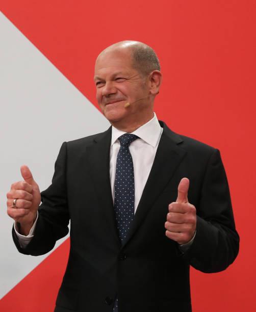DEU: Federal Election - Election Party SPD