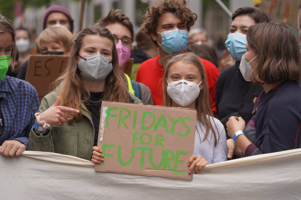 DEU: Fridays For Future Demonstrations In Germany