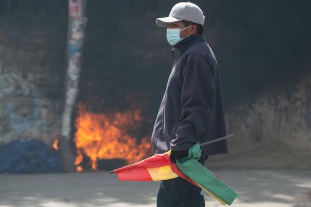 BOL: Coca Leaf Producers Protest In Bolivia