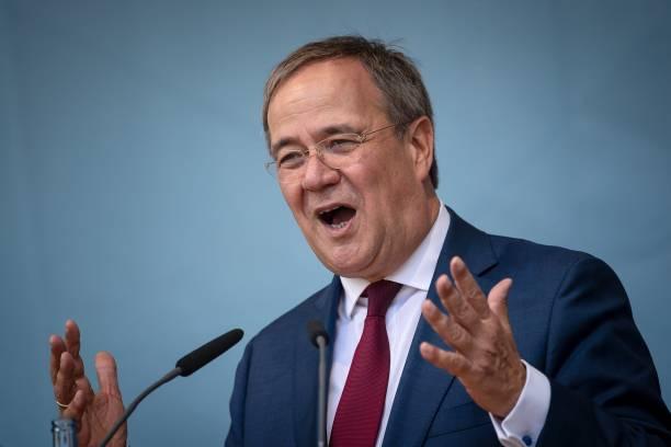 DEU: Election Campaign CDU - Laschet In Bremen