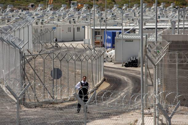 GRC: New Refugee Camp On Samos
