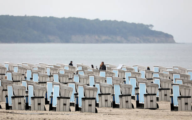 DEU: First Beach Chairs Go Into Winter Quarters