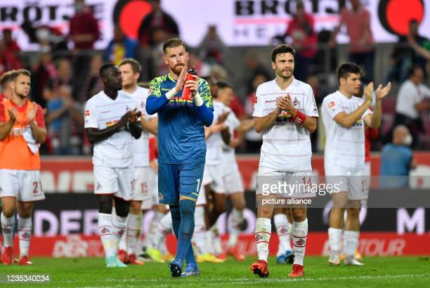 September 2021, North Rhine-Westphalia, Cologne: Football: Bundesliga, 1. FC Köln - RB Leipzig, Matchday 5, at RheinEnergieStadion. Cologne's...