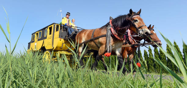 DEU: Travelling Like In Napoleon's Time - On The Road With A Stagecoach