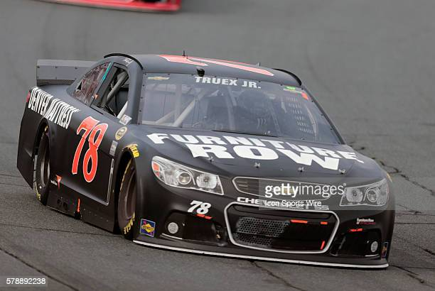 Martin Truex Jr NASCAR Sprint Cup Series driver of the Furniture Row Chevrolet during the Sylvania 300 at New Hampshire Motor Speedway in Loudon NH