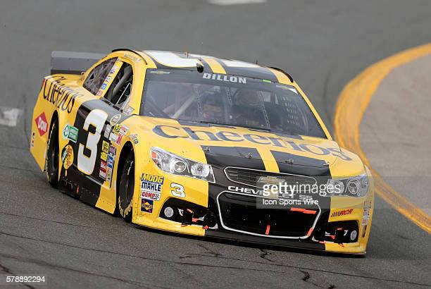 Sunoco Rookie of the Year candidate Austin Dillon NASCAR Sprint Cup Series driver of the Cheerios Chevrolet during the Sylvania 300 at New Hampshire...
