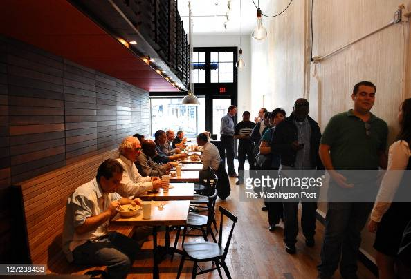 The Lunch Crowd At Shophouse Southeast Asian Kitchen On September 21 News Photo Getty Images