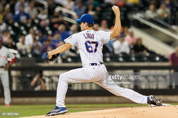 New York Mets Pitcher Seth Lugo [11529] on the mound in the first inning of a regular season game between the Philadelphia Phillies and the New York...
