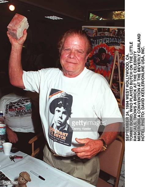 September 24 1994 Tommy Bond 'Butch' From The Little Rascals Attending A Celebrity Collectors Event At Beverly Garland Hotel In LA