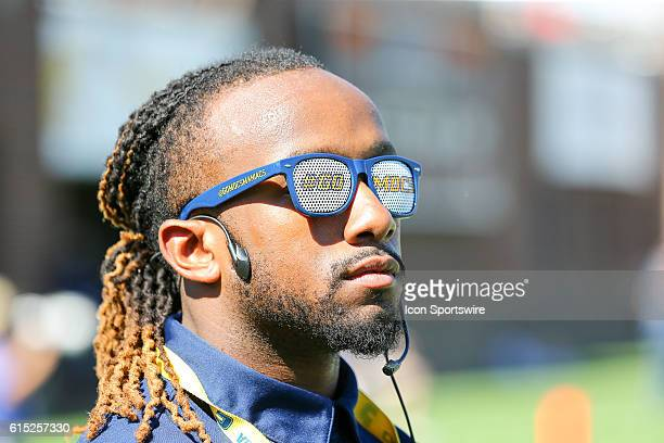 Chattanooga Mocs fan on the sideline during the game between Samford and UT Chattanooga Chattanooga defeats Samford 41 21 at Finley Stadium in...