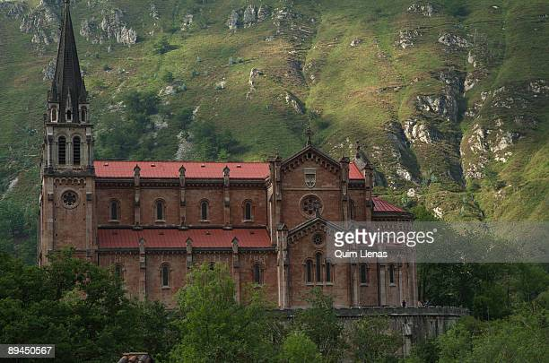 September 25 2008 Covadonga Asturias Spain Mountain Covadonga was the first National Park of Spain and now continues to have the maximum protection...