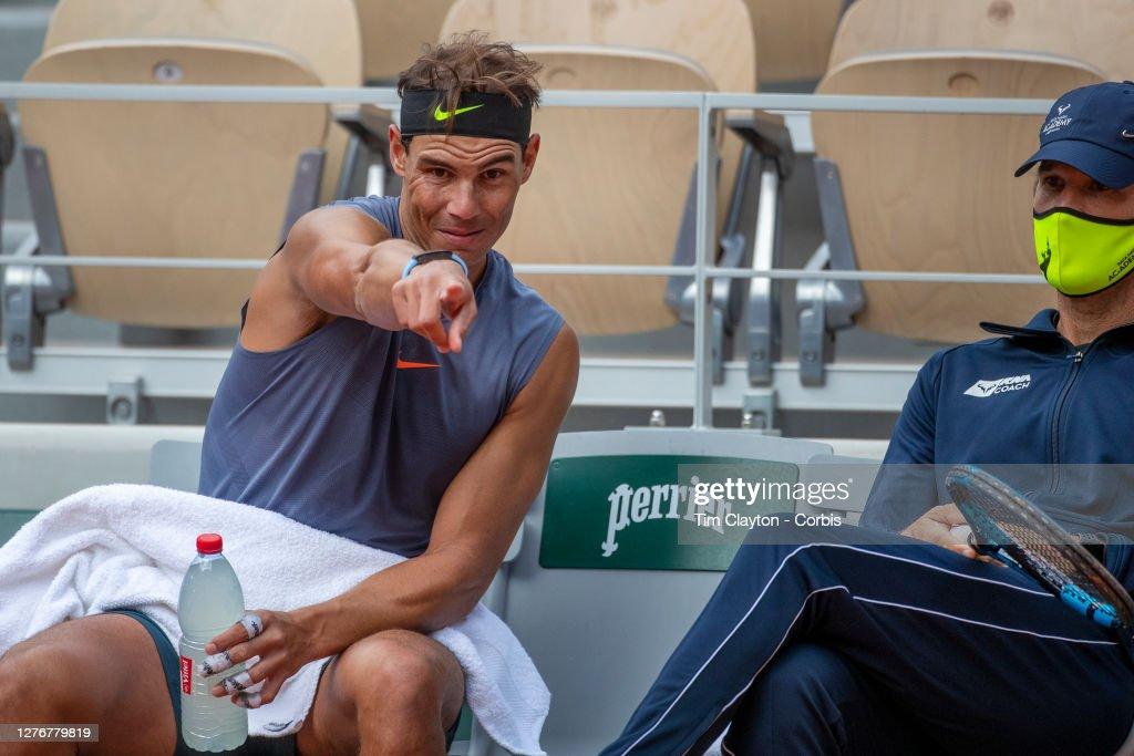 French Open Tennis. Roland-Garros 2020. : Fotografía de noticias
