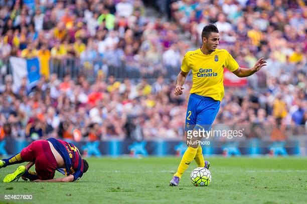 David Simon during the match beetwen FC Barcelona and Las Palmas for the week 6 of the Spanish league played at the Camp Nou stadium on September 26...