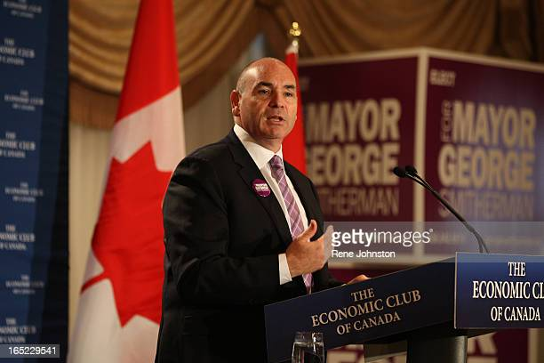September 27 2010 Speaking to several hundred guests at the Economic Club of Canada George Smitherman released his 'Budget Blueprint' his plan for...