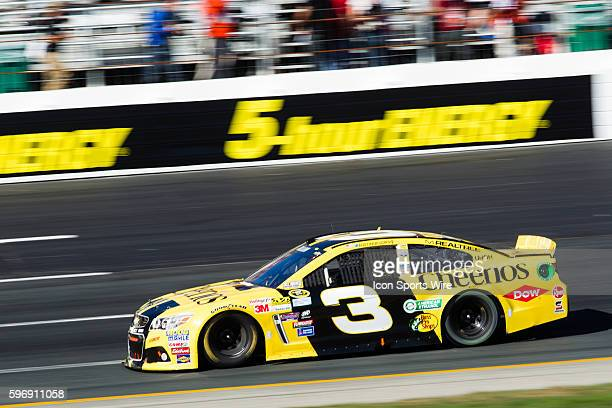 NASCAR Sprint Cup Series driver Austin Dillon driver of the Cheerios Chevy during NASCAR Sprint Cup Series Sylvania 300 at New Hampshire Motor...