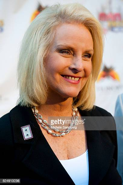 September 29 2012 CINDY McCAIN Wife of Senator John McCain Miami Rocks Our Troops Live Benefit Concert Performers to include Billy Ray Cyrus Jon...