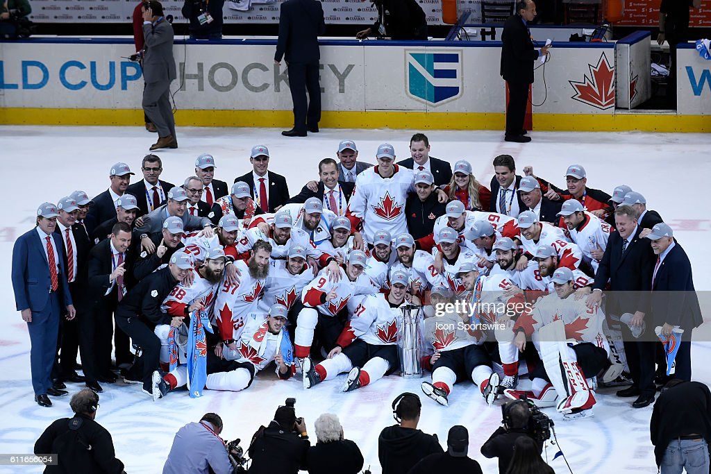 HOCKEY: SEP 29 World Cup of Hockey - Final - Game 2 - Team Europe v Team Canada : News Photo