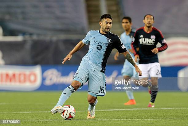 Sporting Kansas City's Claudio Bieler The New England Revolution defeated Sporting Kansas City 31 in a regular season Major League Soccer match at...