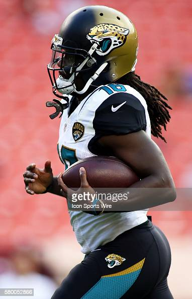 Jacksonville Jaguars running back Denard Robinson in ...