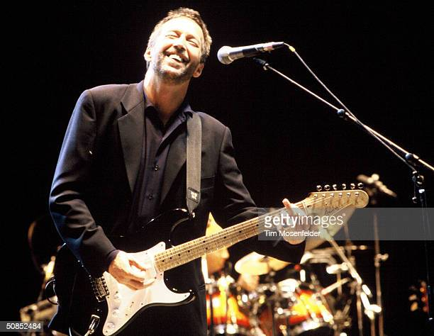 VIEW CA September 4 Eric Clapton performing at Shoreline Amphitheater Event held on September 4 1992 in Mountain View California