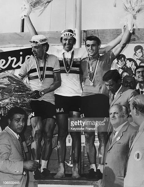 September 4Th 1968 Imola Vittorio Adorni World Cycling Champion