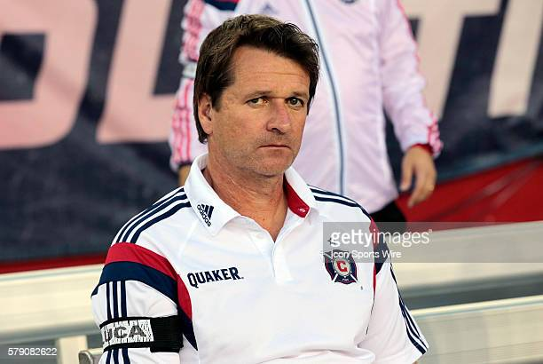 Chicago Fire's Head Coach and Director of Soccer Frank Yallop The New England Revolution defeated the Chicago Fire 21 in a regular season Major...
