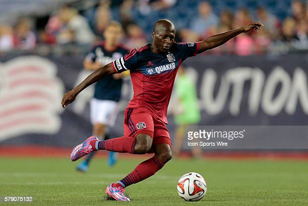 Chicago Fire's Sanna Nyassi would score Chicago's goal The New England Revolution defeated the Chicago Fire 21 in a regular season Major League...