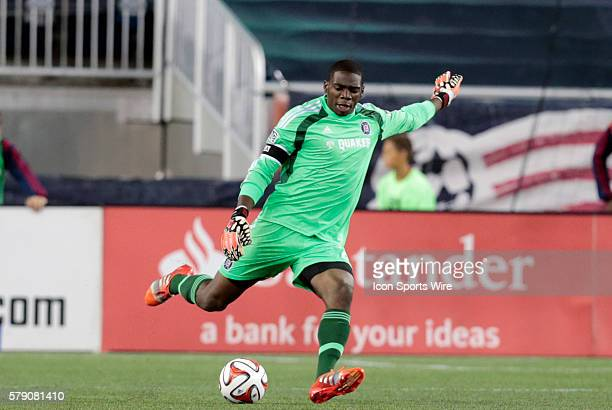 Chicago Fire's Sean Johnson The New England Revolution defeated the Chicago Fire 21 in a regular season Major League Soccer match at Gillette Stadium...
