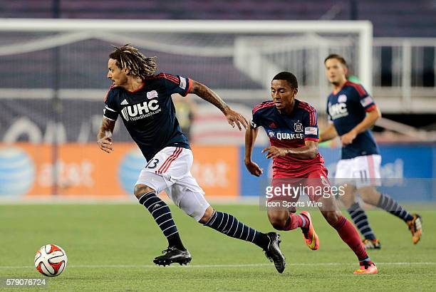 New England Revolution's Jermaine Jones escapes from Chicago Fire's Grant Ward The New England Revolution defeated the Chicago Fire 21 in a regular...