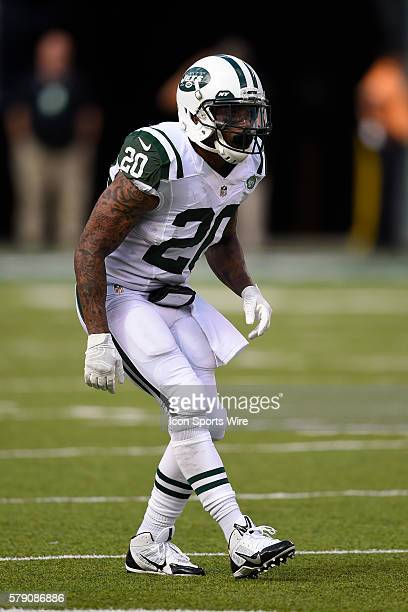 New York Jets cornerback Kyle Wilson during the second half of a NFL matchup between the Oakland Raiders and the New York Jets at MetLife Stadium in...
