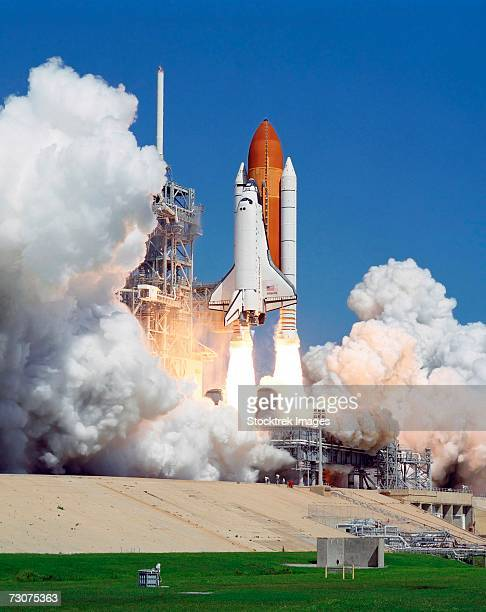 September 9, 2006 - The Space Shuttle Atlantis and its six-member crew launch at 11:15 a.m. (EDT) to begin the two-day journey to the International Space Station on the STS-115 mission.