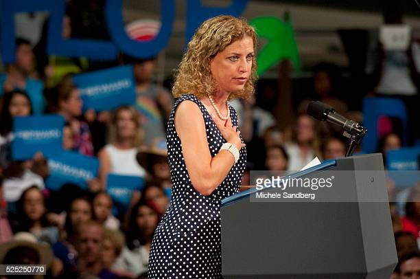 September 9 CONGRESSWOMAN DEBBIE WASSERMAN SCHULTZ President Obama Campaigns In South Florida The president discusses the choice in the election...
