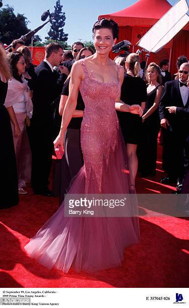 September 99, Los Angeles, California - 1999 Prime Time Emmy Awards - Terry Farrell
