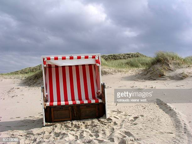 September on the North Sea beach of Sylt