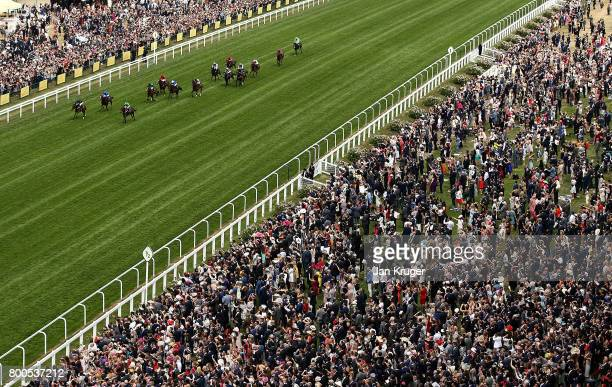 September ridden by Ryan Moore wins the Chesham Stakes on day 5 of Royal Ascot at Ascot Racecourse on June 24 2017 in Ascot England