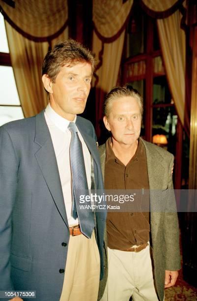 DEAUVILLE 12 septembre 1998 Diner de gala du groupe LucienBarrière dans le salon des Ambassadeurs après la projection du film 'Meurtre Parfait'...