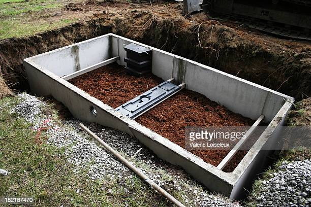 Septic system construction