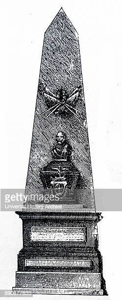 Sepulchre of Hernan Cortes in the Church of Jesús Nazareno Mexico City México located at the spot where Hernán Cortés and Montezuma II met for the...