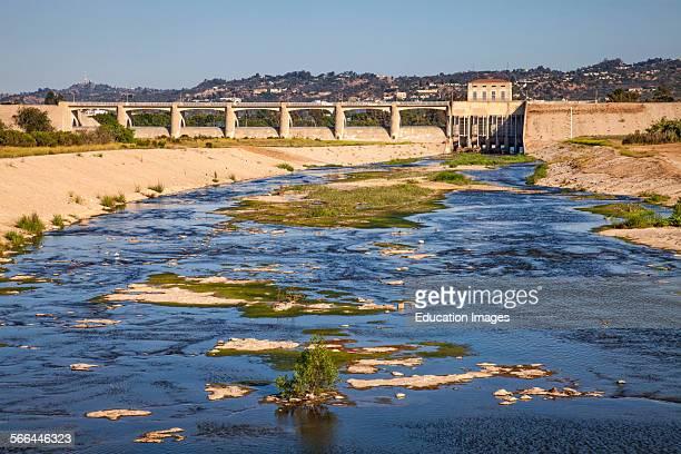 Sepulveda Dam Sepulveda Basin Recreation Area San Fernando Valley Los Angeles California